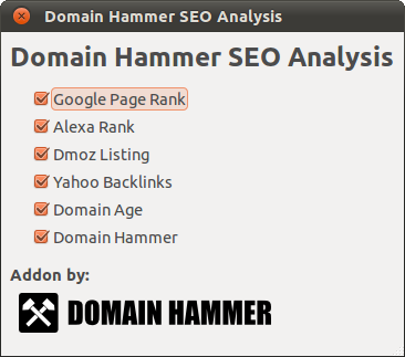 Domain Hammer Options